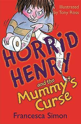 Horrid Henry Story Book - HORRID HENRY AND THE MUMMY'S CURSE - NEW