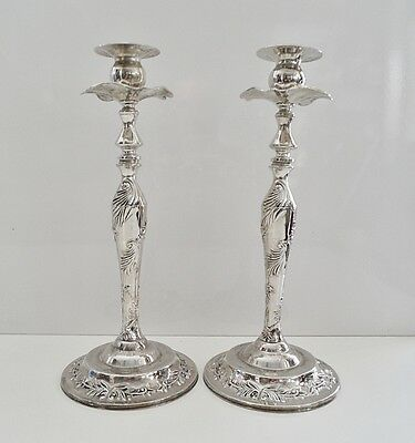Chandeliers Candelabres Bougeoirs Ancien Metal Argente Style Antique Vintage..