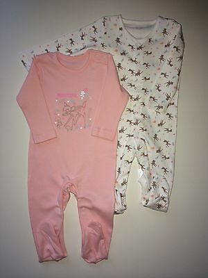*Baby Clothes/ Pretty Baby Girls  Newborn Disney All In One Suits*