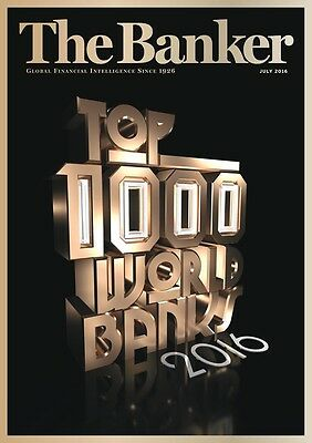 The Banker - July 2016 - Top 1000 World Banks - DISCOUNT!