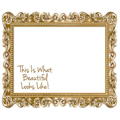 Hair Dressing Mirror Sticker This Is Whats Beautiful Decal Beauty Car Door