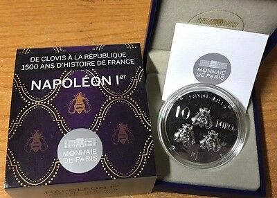France 2014 NAPOLEON I 10 euro Silver Proof - Francia € silber argent