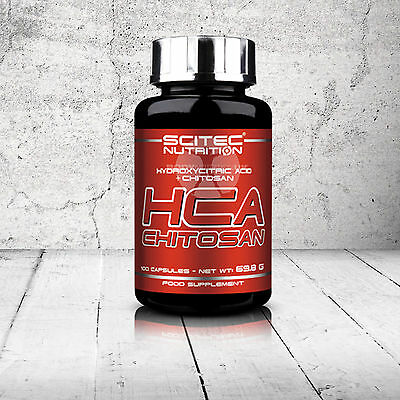 SCITEC NUTRITION HCA + CHITOSAN 100 caps diet fat burner weight loss