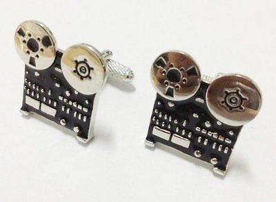 Revox Reel to Reel Cufflinks in Super Presentation Case - CK872