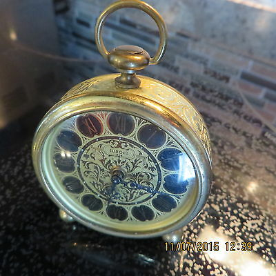 "German Made Small Alarm Clock  ""vintage"""