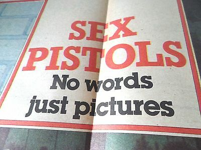 The Sex Pistols  From 1978 Double Page Poster Syd John Steve & Paul