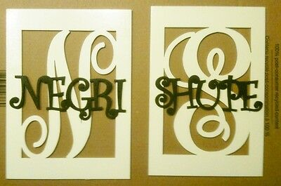 """12"""" Wooden Boxed Letter with Name Painted wood monogram home Decor Custom"""