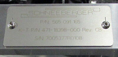 SCHNEEBERGER Precision Heavy Duty XYZ Positioning Stage P/N 565 091 165