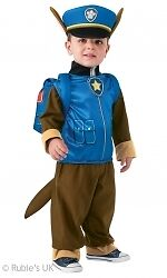 Paw Patrol Chase Children's Party Fancy Dress Costume Book Week - 610502 Toddler