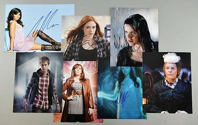 Dr Who Hand-Signed Autographed Photo Jenna Coleman Karen Gillan Catherine Tate