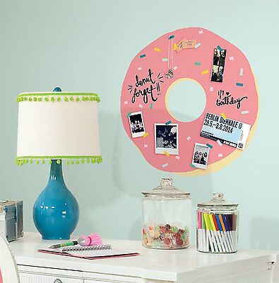 RoomMates RMK2794GM Doughnut with Sprinkles Peel and Stick Giant Wall Decals