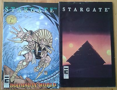 Selection of individual Stargate (film/movie) comic issues