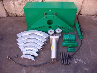 Greenlee 884 885 Bender 1 1/4 To 5 With Hand Pump  Great Shape