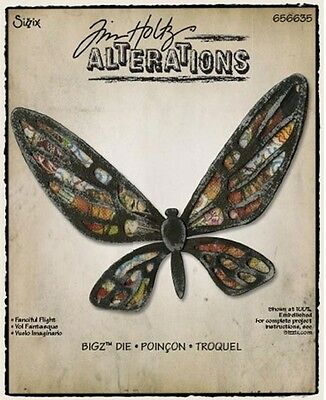Tim Holtz Alteration Die ~Fanciful Fright (Special Price)