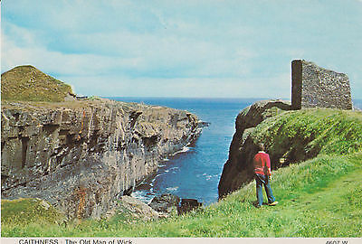 Caithness- The Old Man of Wick - Colour Postcard 4607W Unposted