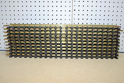 "Aristo-Craft ART-11060 x 10 Euro Style 24"" Straight Brass Track *G-Scale*"