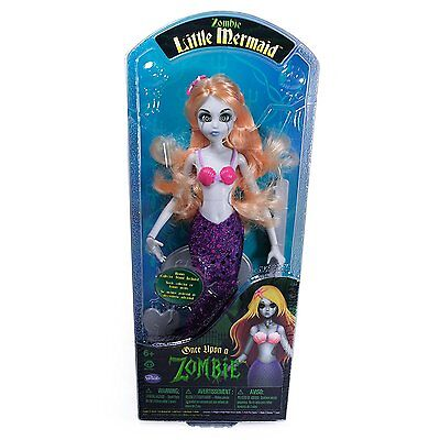 Once Upon a Zombie Little Mermaid Doll - Brand New