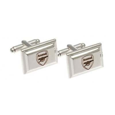 Official Football Team Silver Plated Men's Cufflinks Licensed Gifts In Gift Box