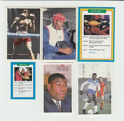 Boxing : Frank Bruno : UK sports card group