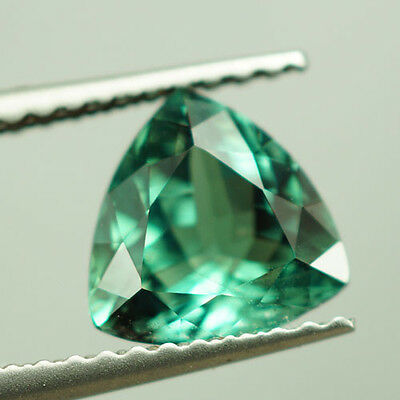 1.44 Ct Natural Bluish Green Alexandrite Gia Certified ( Video Attached )