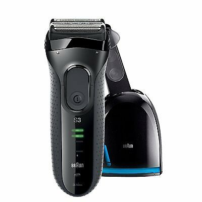 Braun Series 3 Rechargeable Shaver with Clean&Charge
