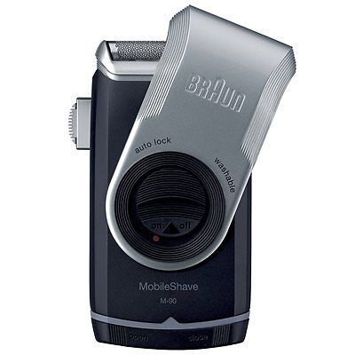 Braun Pocket Go Battery Shaver