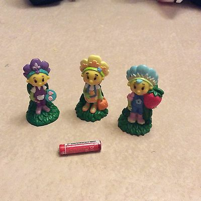 Fifi and the flowertots figures/caketoppers x 3