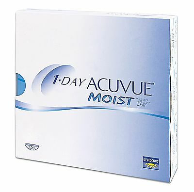 1 DAY ACUVUE MOIST 90 pack - contact lens  kontaktlinse lenti a contatto