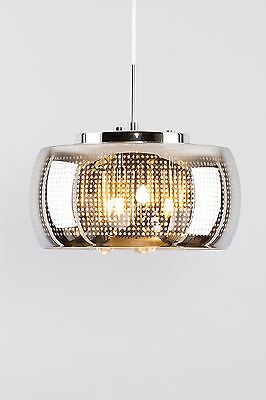 Chandelier with glass ceiling light ideal for living room, kitchen, bedroom