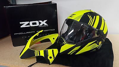 Brand New Zox Z-Ds10| Hi Vis Yelllow | Size Large