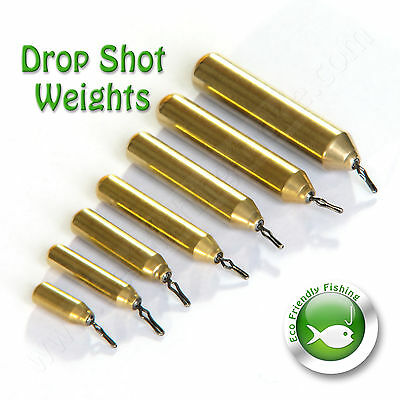 Drop Shot Weights Finesse Sinker Pensil NON TOXIC LEAD FREE Perch Fishing