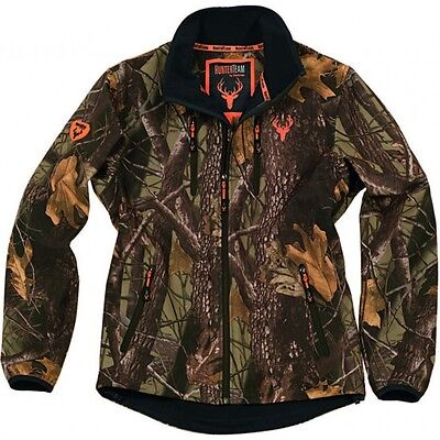 Chaqueta Workshell camuflaje bosque marrón - Jacket - Caza -Hunting - Uniformes
