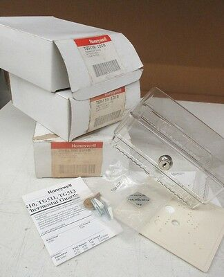 Honeywell TG511A1018 Thermostat Guard with key lock  Clear  Medium  Lot of 5