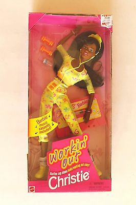 Christie : Workin Out- With Barbie Music Cassette - Mattel  1996 - New -Nrfb
