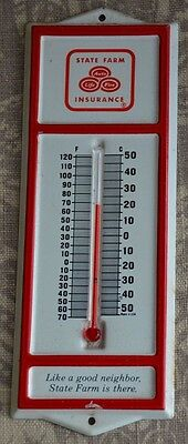 State Farm Insurance Thermometer...VERY RARE COLLECTOR'S ITEM