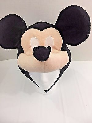 Disney Store Mickey Mouse Plush Hat Toddler Youth Costume Soft
