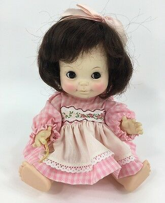 Vintage Effanbee Half Pint Doll Girl Twin Sleepy Eyes