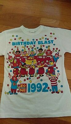 Vintage Discovery Zone Birthday Blast 90s T Shirt XL Kids