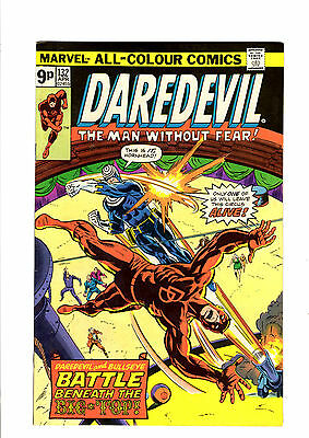 Daredevil #132 Bronze Age Marvel Comics 2nd appearance of Bullseye VF