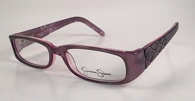 New Authentic JESSICA SIMPSON J966 GYPK RXable Eyeglasses Frames Grey Pearl 49mm