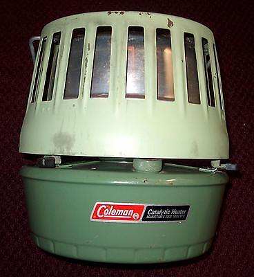 Vintage Coleman Catalytic Heater 3000-5000 BTU 513A708 Early 70's