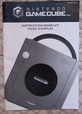 Nintendo Gamecube - Instruction Booklet (Bilingual manual only) #2