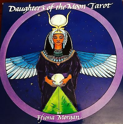 Daughters of the Moon Tarot Deck Color by Ffiona Morgan-NEW