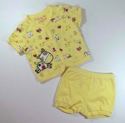 Unisex Baby Outfit Size 3-6 Months Specialty Baby Short Sleeve Shirt Shorts Farm