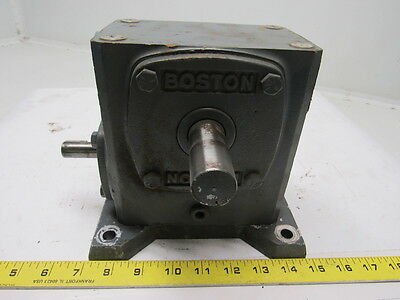 Boston Gear 721-10-G Series 700 Worm Gear Speed Reducer Gear Box 10:1 Ratio