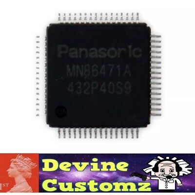 PS4 Panasonic HDMI IC video output Chip for Sony PS4 code MN86471A