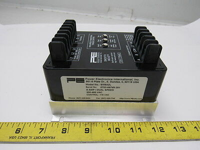 Power Electronics Intl SM8A2L Smooth-Move 2 Soft Start Single Speed 200-460V 8A