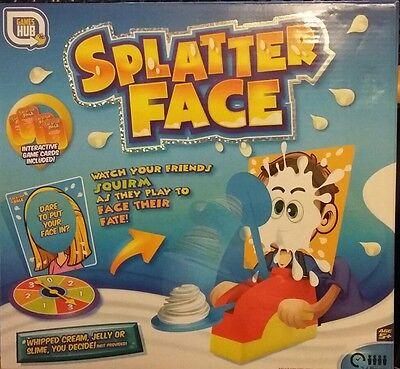 Splatter Face Board Game - Brand New Unopened and In Box - Similar to Pie Face
