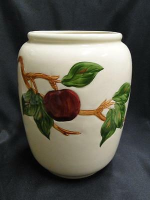 "Franciscan Apple (USA): Cookie Jar No Lid, 8 3/4"" tall"