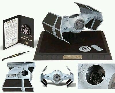 Star Wars Code 3 Vaders X1 TIE Fighter incl. Acrylhaube